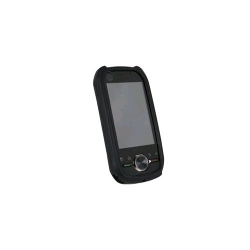 WirelessXGroup SILI1BK Textured Silicone Sleeve For Motorola i1, ()
