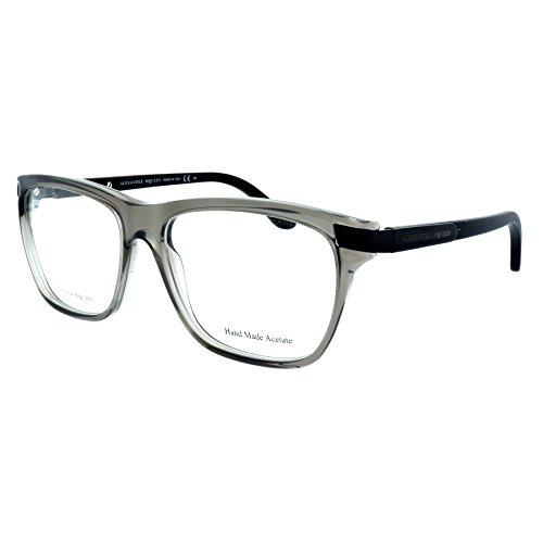 Price comparison product image Eyeglasses Alexander McQueen 4185 0WCR Gray / Shiny Black