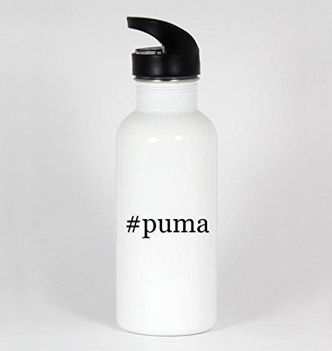 #puma - Funny Hashtag 20oz White Water Bottle