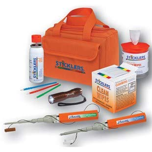 Sticklers MCC-FK08 Sticklers High Volume Fiber Optic Cleaning Kit by Sticklers