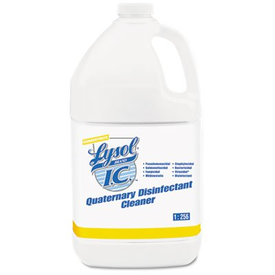 LYSOL Brand I.C.TM Quaternary Disinfectant Cleaner, 1gal Bottle, 4/Carton