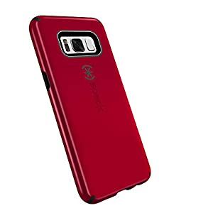 Speck Products CandyShell Cell Phone Case for Samsung Galaxy S8 Plus - Dark Poppy Red/Deep Sea Blue