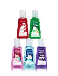Bath and Body Works ADVENTURE AWAITS 5-Pack PocketBac Hand Sanitizers. 1 Oz each
