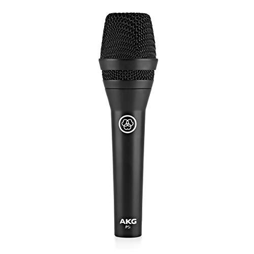 AKG Pro Audio Vocal Dynamic Microphone, Black (AKG P5i)
