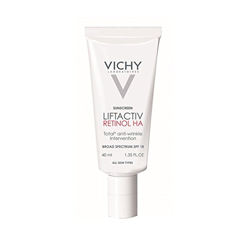 Vichy Laboratoires Liftactiv Retinol Ha Total Anti-Wrinkle Intervention with SPF 18 Day Moisturizer, 1.35 Fluid Ounce