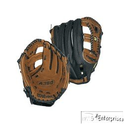 Wilson Baseball Fielders Glove (Wilson A360 125 Fielder's Throw Baseball Glove (Right Hand, 12.5-Inch))