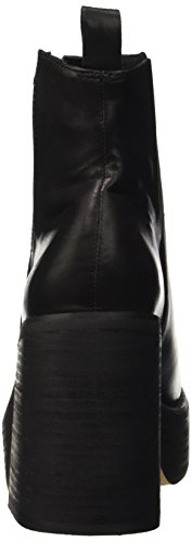 Windsor Smith Listen, Zapatillas Altas para Mujer Negro (Black Leather)