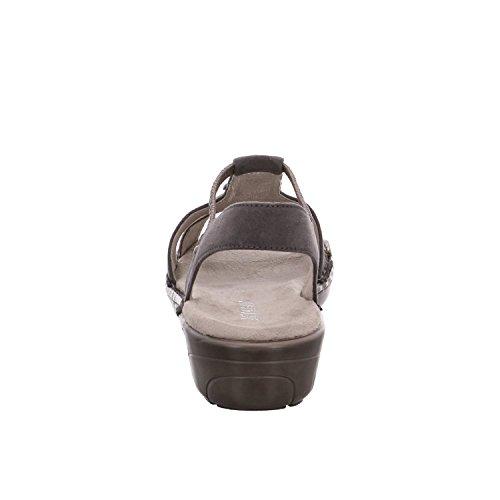 Donna T 2257287 Mineral Sandali Con titan Jenny Grigio Korsika Chiusura 75 A Y0wxRH