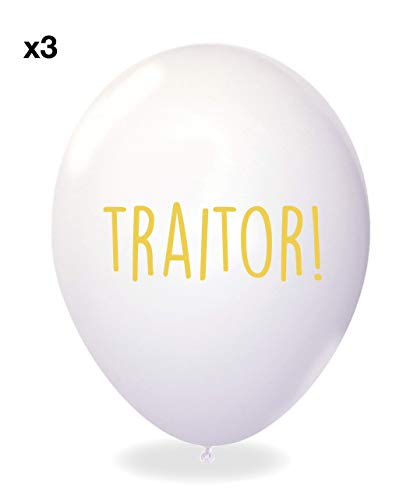 Sass Party /& Gifts Office Leaver Funny Balloons Pack of 12 Premium White And Black Balloons