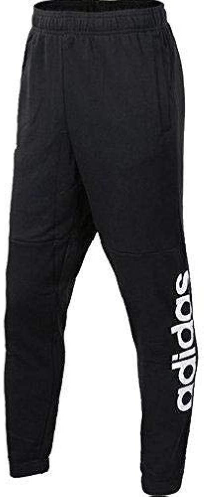 adidas Bq9090 Pantalón de Chándal, Hombre, Negro/Blanco, S/S ...