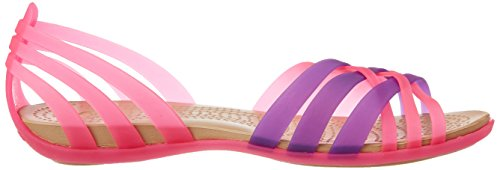 Neon Sandal Huarache Womens Crocs Pink Crocs Vibrant Purple Womens g6qw1xRCOO