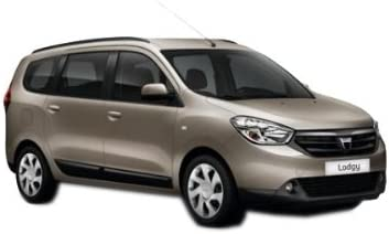 Kofferraumwanne Anti-Rutsch für Dacia Dokker I-Generation Kombi 5-Sitzig