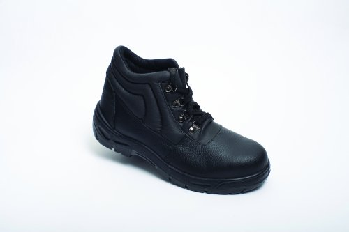 Dual Density Chukka Boot Black Size 8