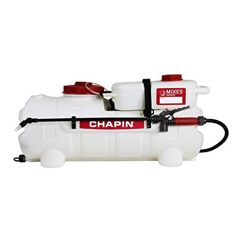 Chapin International 97361 Mixes on Exit-First-Ever Clean-Tank ATV Spraying System, 15-Gallon Sprayer, Translucent