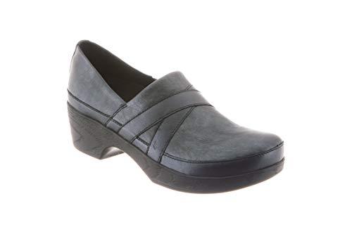 Klogs Footwear Tacoma Medium Argento/Nero Size - Nero Leather Footwear