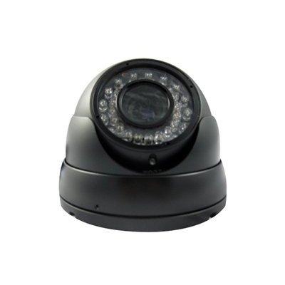 Ccd 520 Tv Lines (Vonnic C505B 1/3-Inch Sony CCD 520 TV Lines 36 IR LED 120-Feet 4-9mm Varifocal Night Range IP66 Vandal Proof Dome Security Camera (Black))