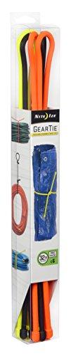 Nite Ize Gear Tie ProPack Reusable Rubber Twist Tie, 32-Inch, Assorted