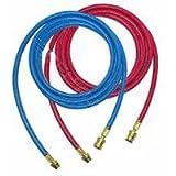 Robinair ROB34722 9 ft. Red-Blue Enviro Guard Hose Set for 34788 - 34288 - 34134Z - 2 Piece