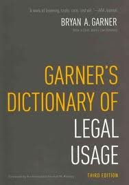 Garner's Dictionary of Legal Usage 3rd (third) edition