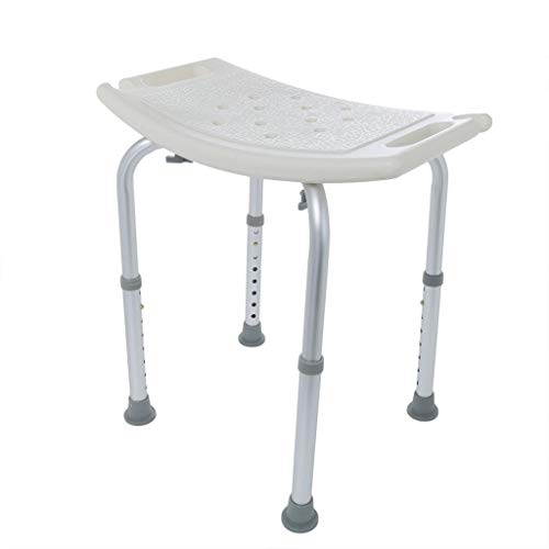 Nesee Medical Shower Bench Bath Seat Chair,Upgraded Stool Transfer Lift Seat, Adjustable 7 Height,FDA Approved No Tools Assembly No-Slip,SPA Bathroom Bathtub Tub Handicap Chair(Ship from US)