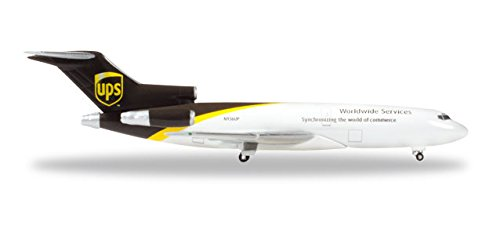 Herpa 530873 UPS United Parcel Service Airlines Boeing 727-100C 1:500 Scale Diecast (Herpa United Airlines)