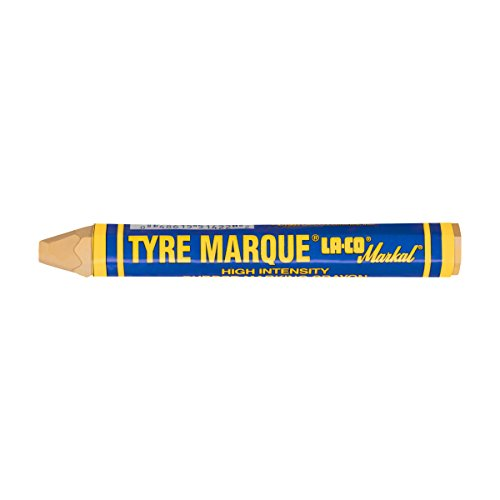 - Markal Tyre Marque Tire Marking Crayon for Temporary Tire Marking, -20 to 130 Degree F Temperature, 1/2
