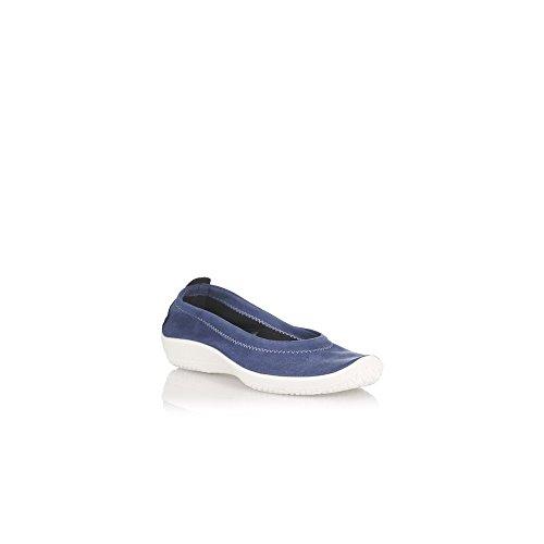 Arcopedico Women's Ballet Flats Blue MARINO SgN0J