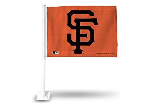 Rico Industries MLB San Francisco Giants Car Flag (Orange) by Rico Industries