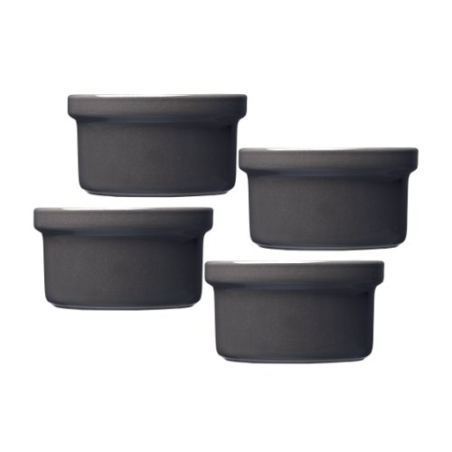 emile henry urban ramekin set of 4 slate. Black Bedroom Furniture Sets. Home Design Ideas