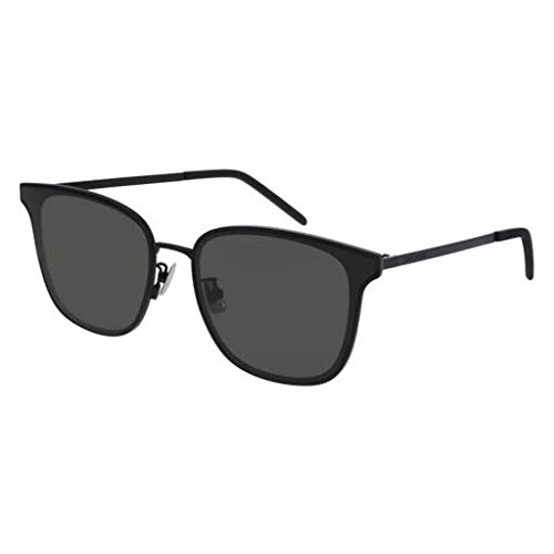 Amazon.com: Gafas de sol Saint Laurent SL 272 / K- 001 NEGRO ...