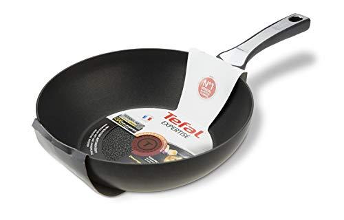 Tefal Expertise - Wok de aluminio de 28 cm, antiadherente con ...
