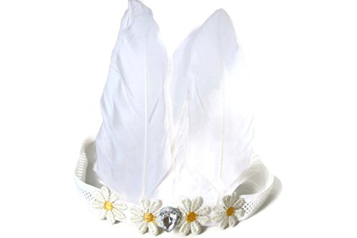[Headband Elastic with Feathers] (Burlesque Man Costume)