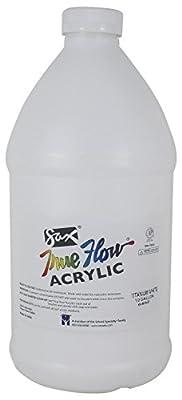 Sax True Flow Medium-Bodied Acrylic Paint - 1/2 Gallon - Titanium White
