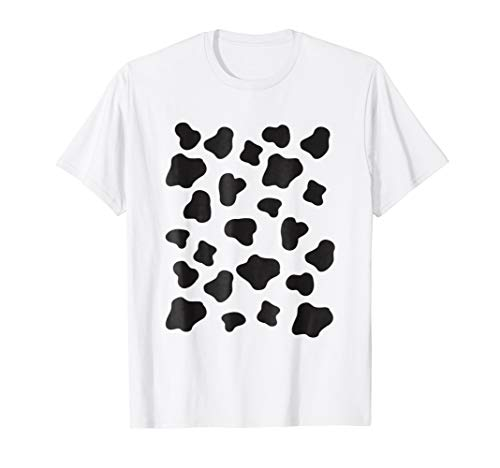 Cow Halloween Costume Party Funny Halloween Shirt -