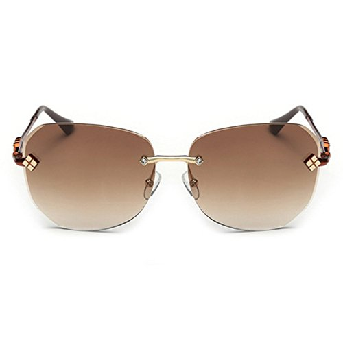 LOMOL 2016 New Womens Trendy Metal Frame UV Protection Personality Oversized Driving - Priced Low To Sell Sunglasses