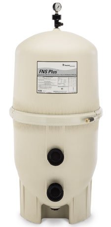 Pentair 180008 FNS Plus Fiberglass Reinforced Polypropylene Material, Vertical Grid, D.E. Pool Filter, 48 Square Feet, 96 - House Shell Nautilus