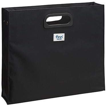 セキセイ デスクデスクバッグS 社内バッグ ブラック FINN-7703-60 【まとめ買い3個セット】