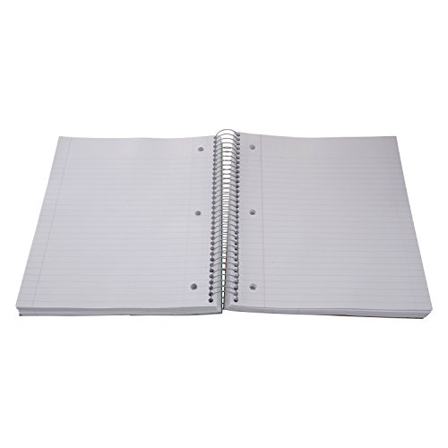 Five Star Spiral Notebook, 1 Subject, College Ruled Paper, 100 Sheets, 11'' x 8-1/2'' Sheet Size (Abstract Design 2) by Five Stars (Image #2)