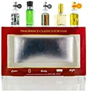 Mens Designer Variety Mens 5 Piece Mini Set (Fragrance Classique)