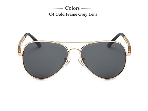 de hombre Gafas gafas C6 sol Hombre Aluminio TIANLIANG04 plata Accesorios masculino polarizadas Frame gafas magnesio sol espejo C4 Eyewears de Gold gafas de zwO06a