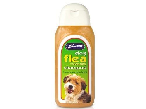 (3 Pack) Johnson's Vet - Dog Flea Cleansing Shampoo 125ml Johnson's Vet