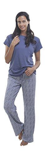 jijamas Incredibly Soft Pima Cotton Women's Pajamas Set - 'The Long Weekend' - Pima Cotton Pajamas