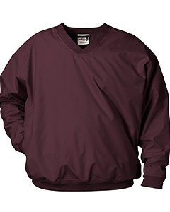 Badger Sport Microfiber Windshirt 7618 Maroon XXX-Large by Badger