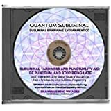 BMV Quantum Subliminal CD Tardiness and Punctuality Aid: Be Punctual and Stop Being Late (Ultrasonic Subliminal Series)