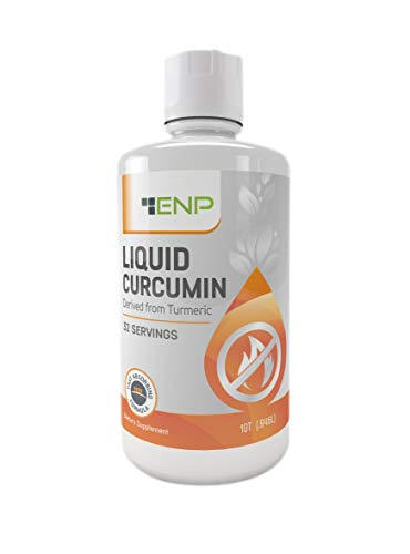 Liquid Curcumin Supplement Derived from Turmeric 1000 mg Highly Bioavailable Liquid Increases Absorption Joint Pain Relief Anti-Inflammatory, Antioxidant Non-GMO, USA Made 1 Month Supply
