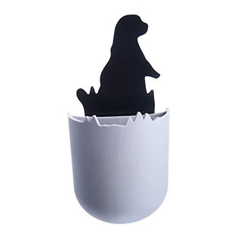 LIUguoo Bathroom Storage, Bathroom Supplies, Wall-Mounted Detachable Storage Box, Small Sea Lion Adhesive Detachable Storage Box Lovely ()