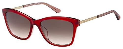 (Sunglasses Juicy Couture JU 604 /S 0LHF Opal Burgundy/HA Brown Gradient)