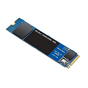 Western Digital WD SN550 500GB NVMe Internal SSD – 2400MB/s R, 1750MB/s W, (WDS500G2B0C, Blue)