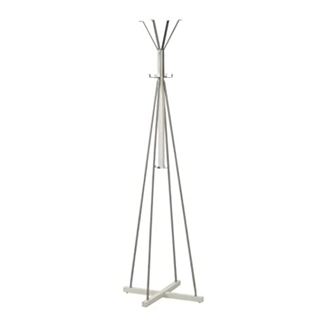 Ikea tjusig - Perchero de pie en color blanco; (191 cm ...