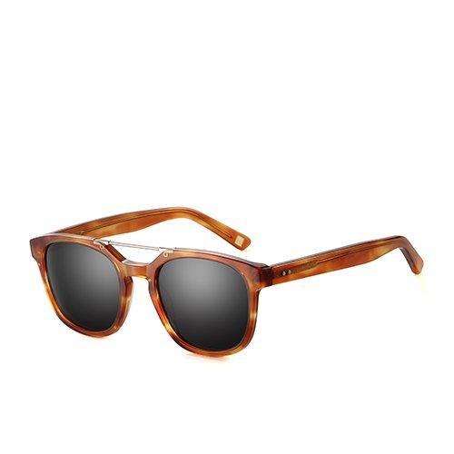 Smoke de de de gafas Unisex guía C03 acetato humo sol viajes Sunglasses pesca TL para gafas polarizadas en Brown Gafas hombres marrón C03 wxBq4